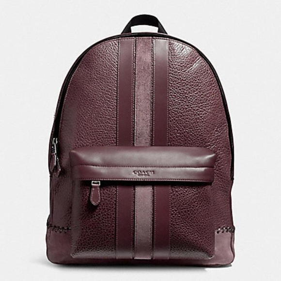 c70d634ce531 Leather Backpack Coach Campus Oxblood Leather Bag. Listing Price   220